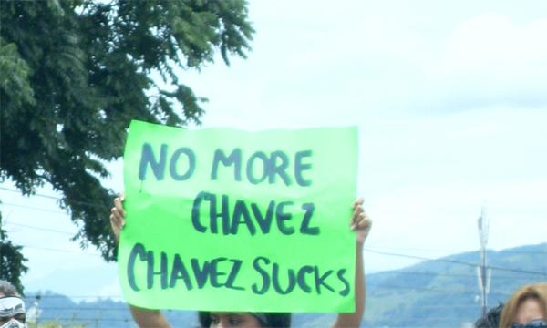 No más Chavez